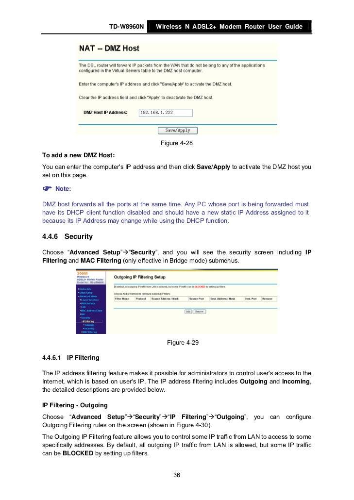 Manual do modem tp link td-w8960n