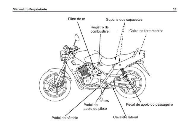 Manual do propietário cb500 d2203-man-0228