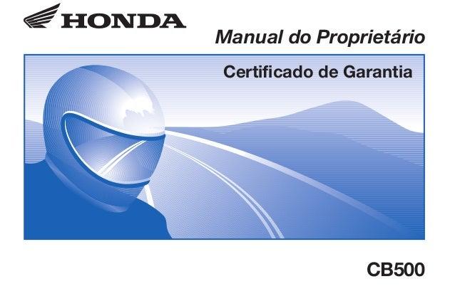 CB500/D2203-MAN-0328.eps 29/11/2002 5:46 AM Page 1 Composite C M Y CM MY CY CMY K D2203-MAN-0328 Impresso no Brasil A0500-...