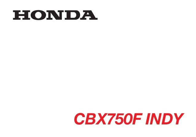 Manual do propietário cbx750 findy todas_d1201-man-0003