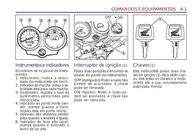 Manual do propietário mp cg125 fan d2203-man-0374