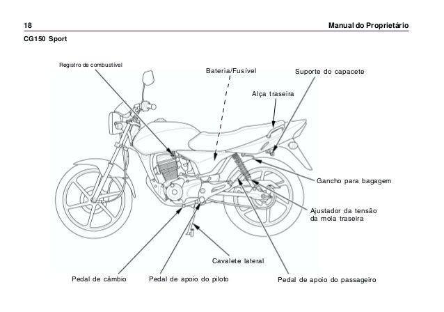 Manual do propietário mp cg150 titan ks es esd cg150 sport