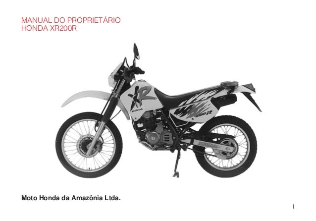 Manual do propietário mp xr200 r d2203-man-0180