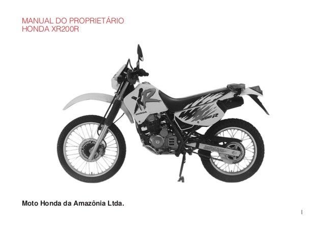 Manual do propietário mp xr200 r d2203-man-0180