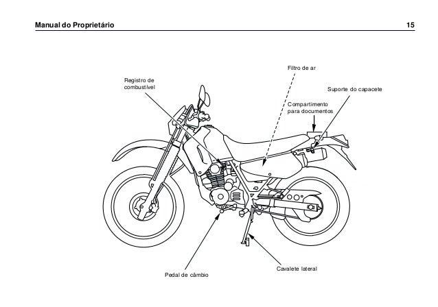Manual do propietário xr200 0271