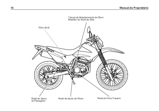 Manual do propietário xr250 0238