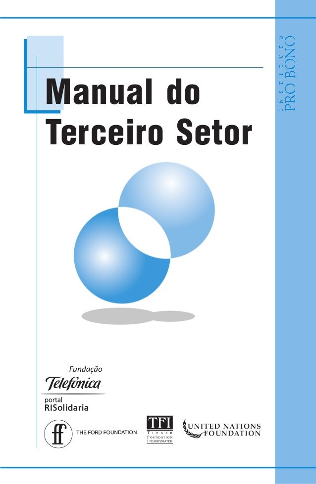 Manual doTerceiro Setor