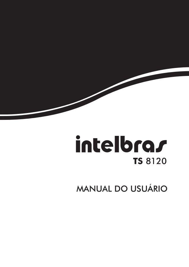 TS 8120MANUAL DO USUÁRIO