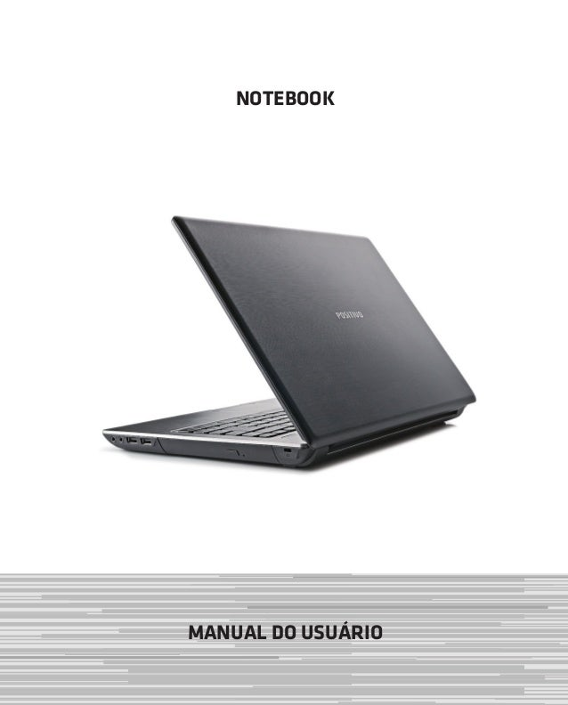 NOTEBOOK MANUAL DO USUÁRIO