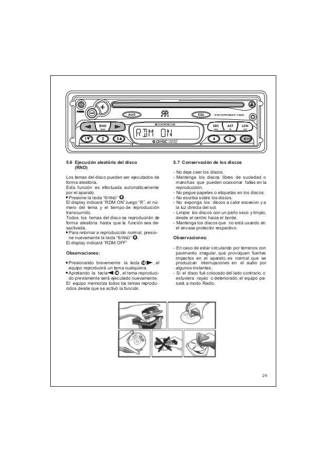 Manual do usuário Player Vectra DF932 DF942 DF962R