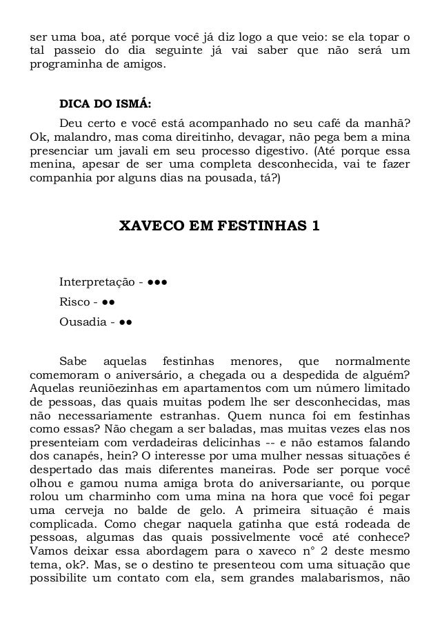 o manual do xavequeiro
