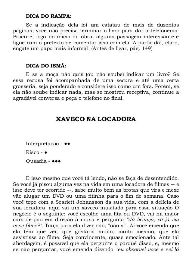 LIVRO MANUAL XAVEQUEIRO BAIXAR DO