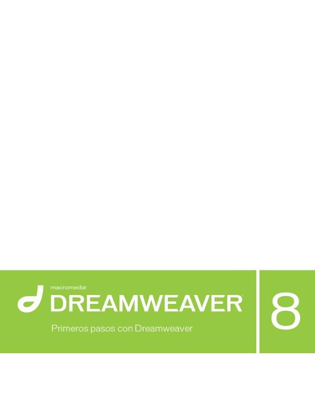 Primeros pasos con Dreamweaver
