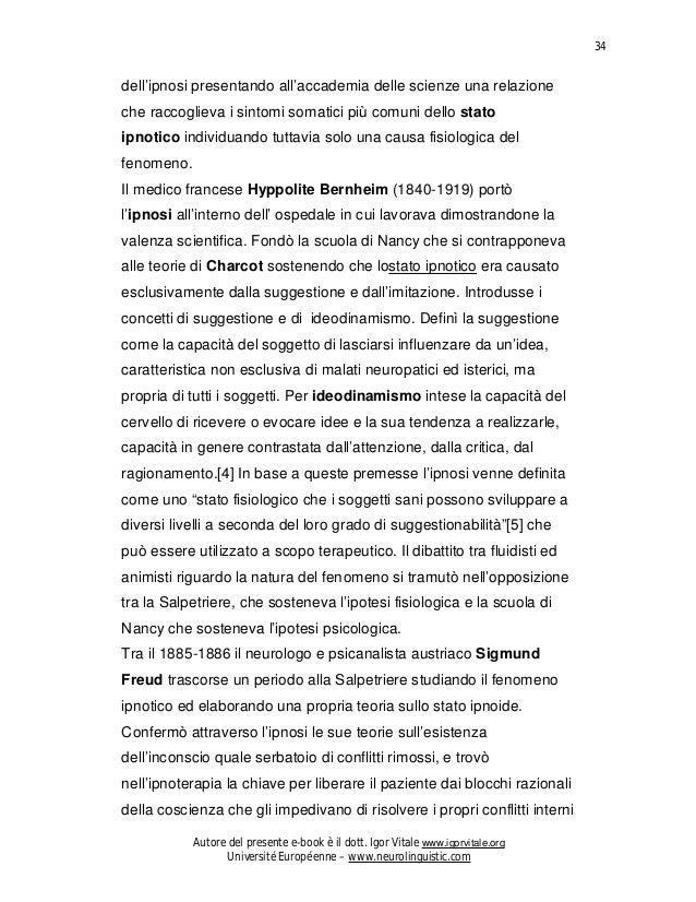 Manuale gratuito ipnosi contribu al riconoscimento della realt scientifica 34 fandeluxe Gallery