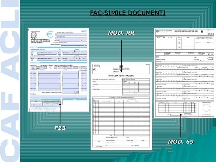 Ufficio Ente Per F23 : Gloss al caf il 16.12.2011: manuale associazioni