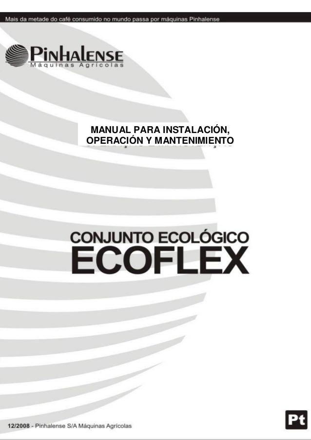 Manual ECOFLEX PINHALENSE