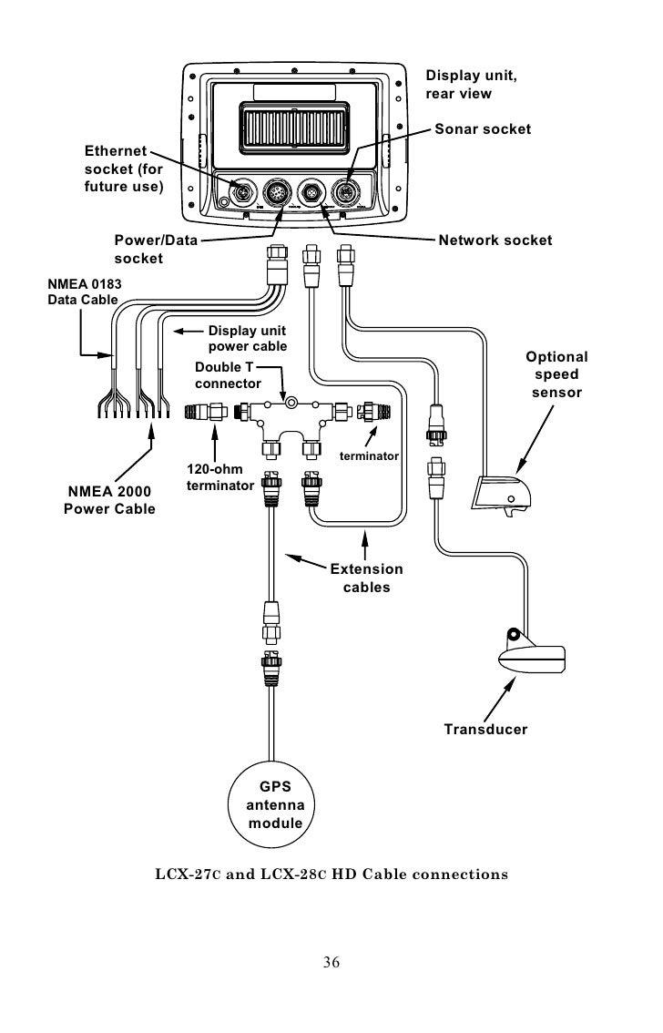 Lowrance Gps Antenna Wiring Diagram Schematic Diagrams Puckwiringdiagram Lcx Residential Electrical Symbols U2022