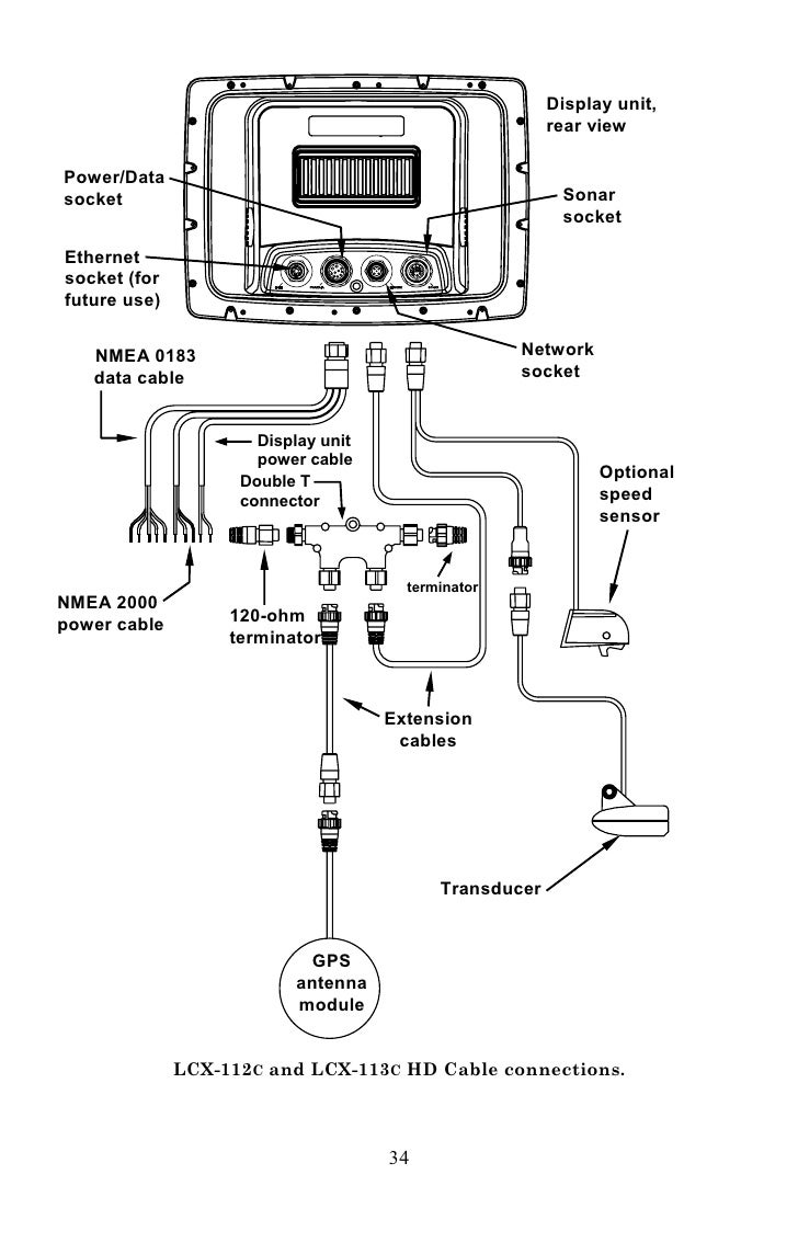Lowrance Lcx 27c Wiring Diagram : 31 Wiring Diagram Images