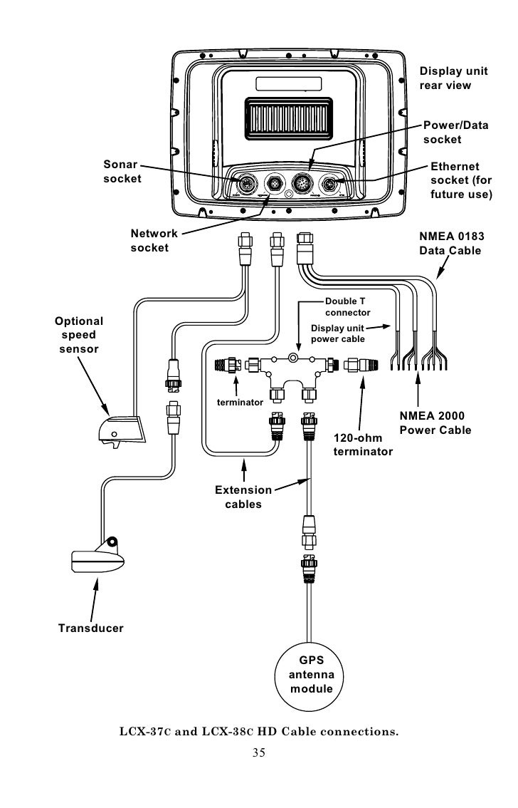 Manuale Eco Ing Lowrance Nmea Cable Wiring Diagram 34 45