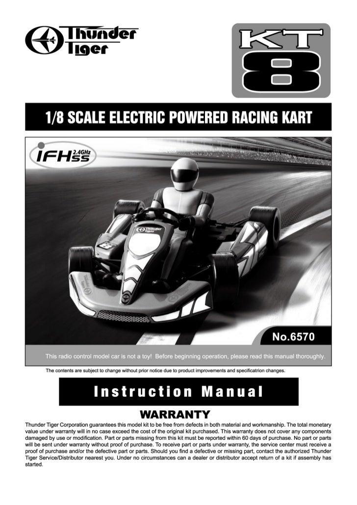 Manuale kart 1