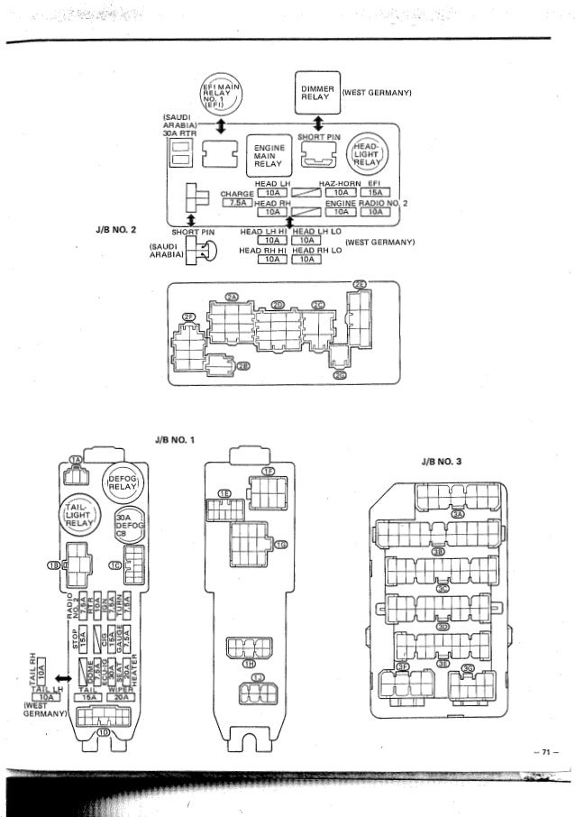 Toyota Corolla Wiring Diagrams Emergency Evacuation Map