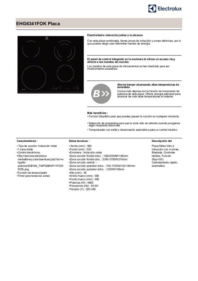 EHG6341FOK Placa Electricidad e inducción juntos a tu alcance Con esta placa combinada, tienes zonas de inducción y zonas ...