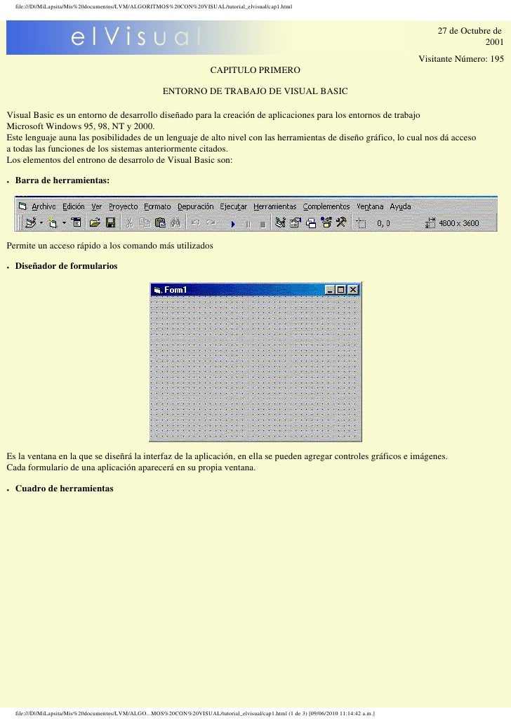 file:///D|/MiLapsita/Mis%20documentos/LVM/ALGORITMOS%20CON%20VISUAL/tutorial_elvisual/cap1.html                           ...