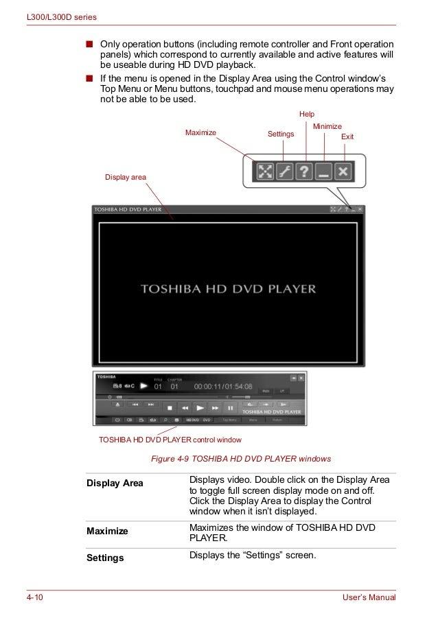 Toshiba Satellite Pro L300D TS-L632P ODD Windows Vista 32-BIT