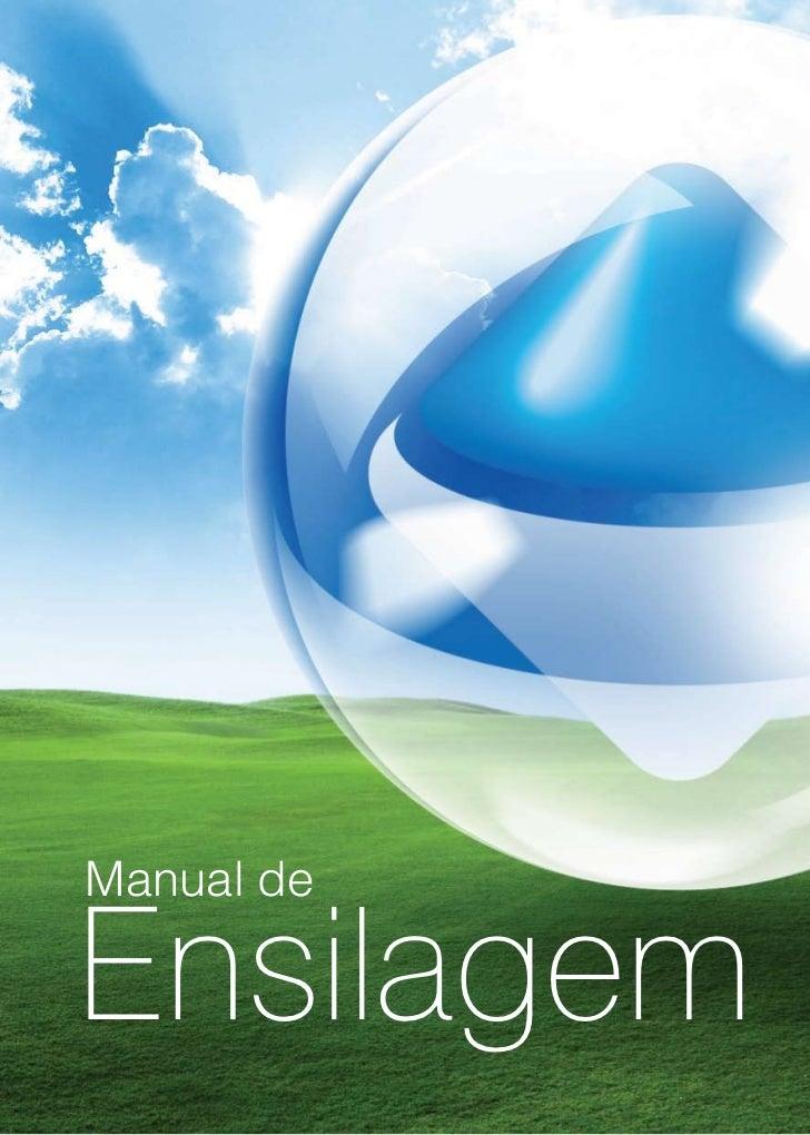 Manual de  Ensilagem