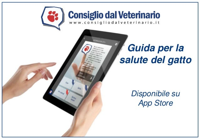 Guida per la salute del gatto Disponibile su App Store