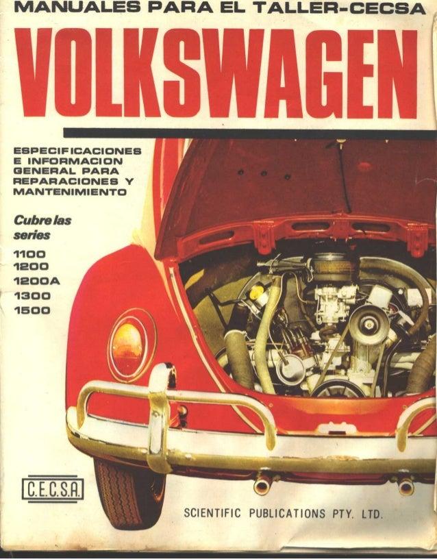 Manuales taller cecsa volkswagen 1 for Manuales de cocina en pdf gratis