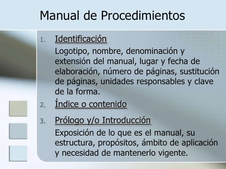 Presentaci n de power point for Manual de procedimientos de un restaurante