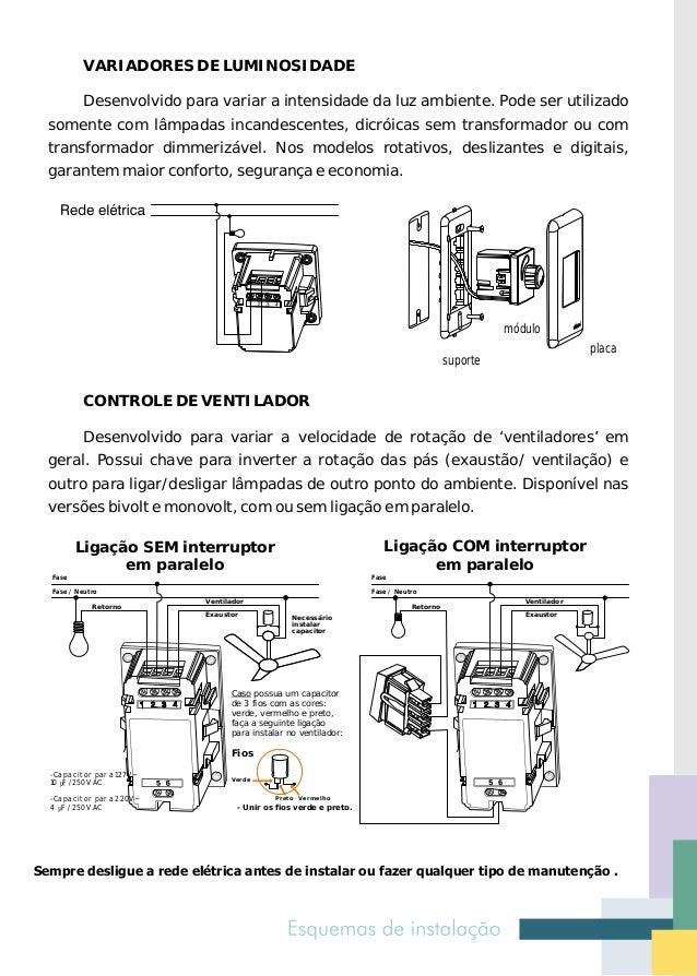 Luz de emergência autônoma       Desenvolvida para iluminar ambientes automaticamente em casos de falta  de energia elétri...