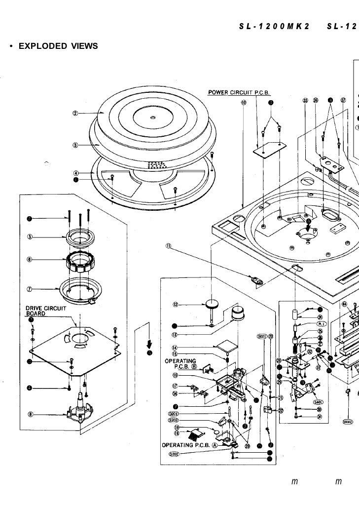 Manuale Technics Sl1200 2da Pt