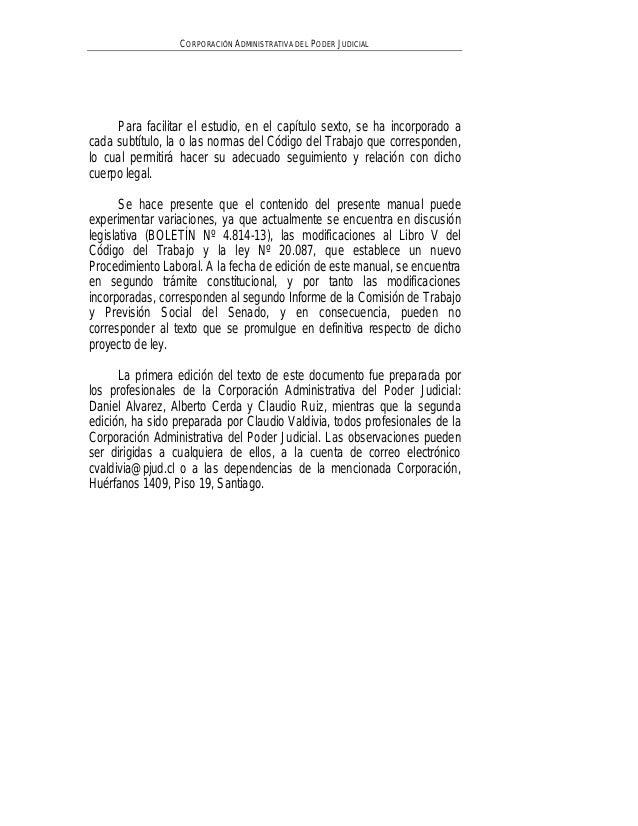 Manual examen habilitante juzgados de letras de trabajo for Juzgado de letras