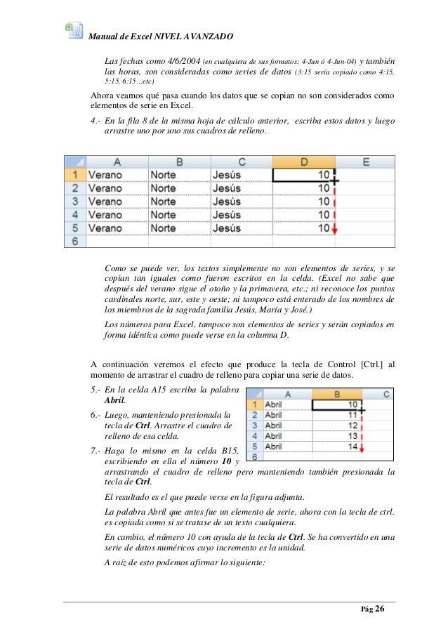 Descargar Manual De Excel 2016 Pdf Gratis on Descargar Curso Excel 2010 Gratis Espanol