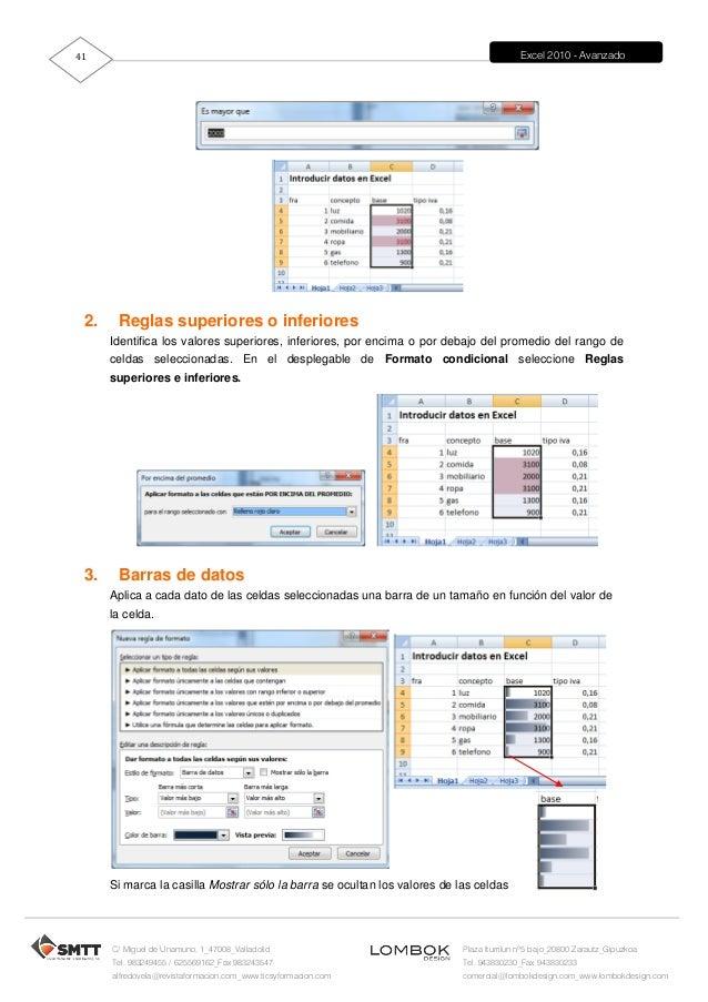 manual excel 2010 avanzado rh slideshare net manual for microsoft excel 2010 manual excel 2010 portugues
