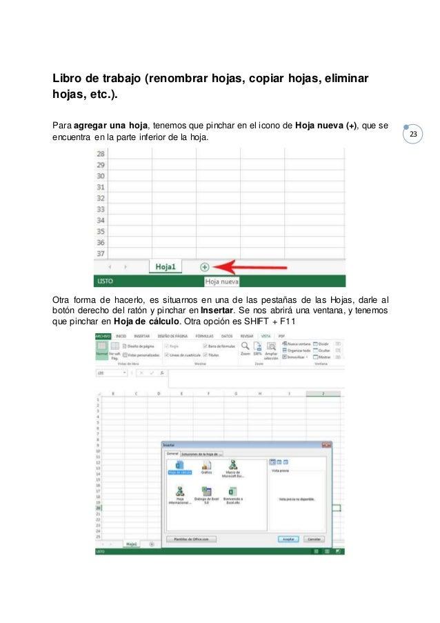 Manual Excel 2013