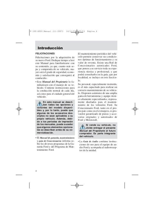 Manual f100