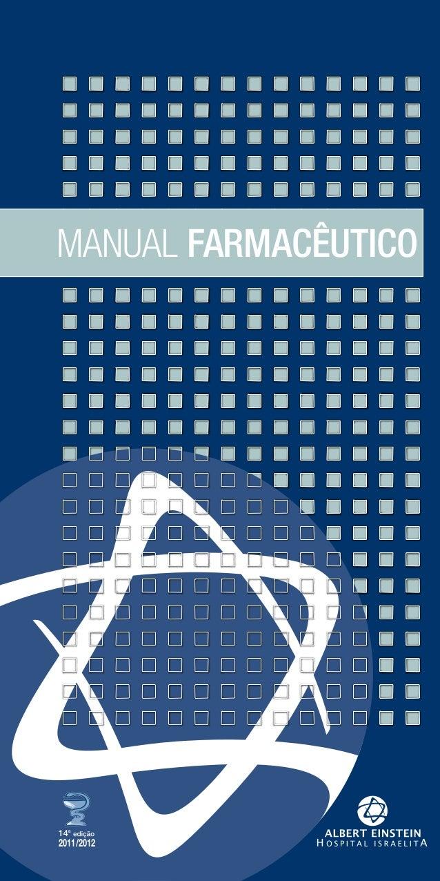 2011/2012 MANUAL FARMACÊUTICO