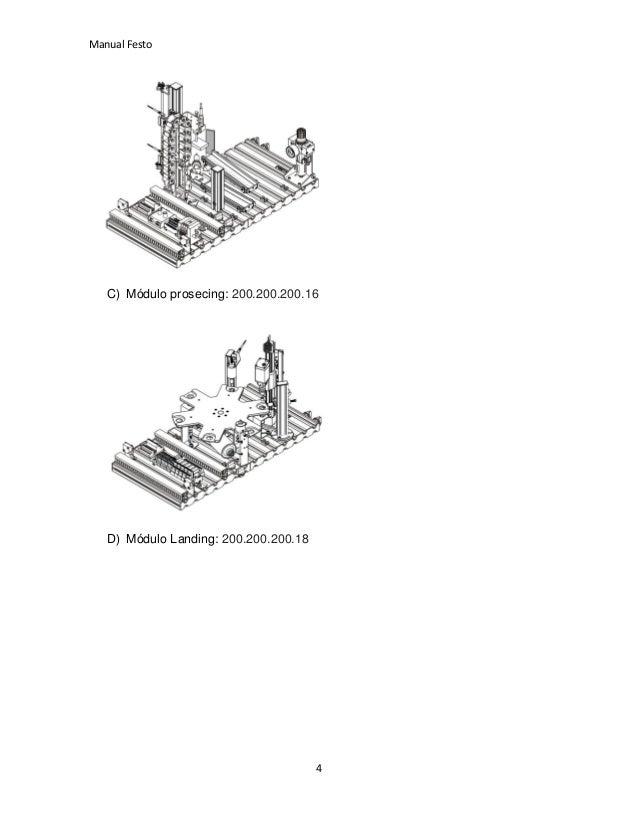 Manual festo FST 4 e In touch para xp