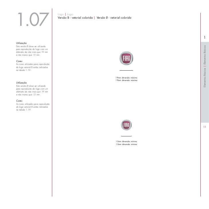 Manual de Identidade Visual da Fiat