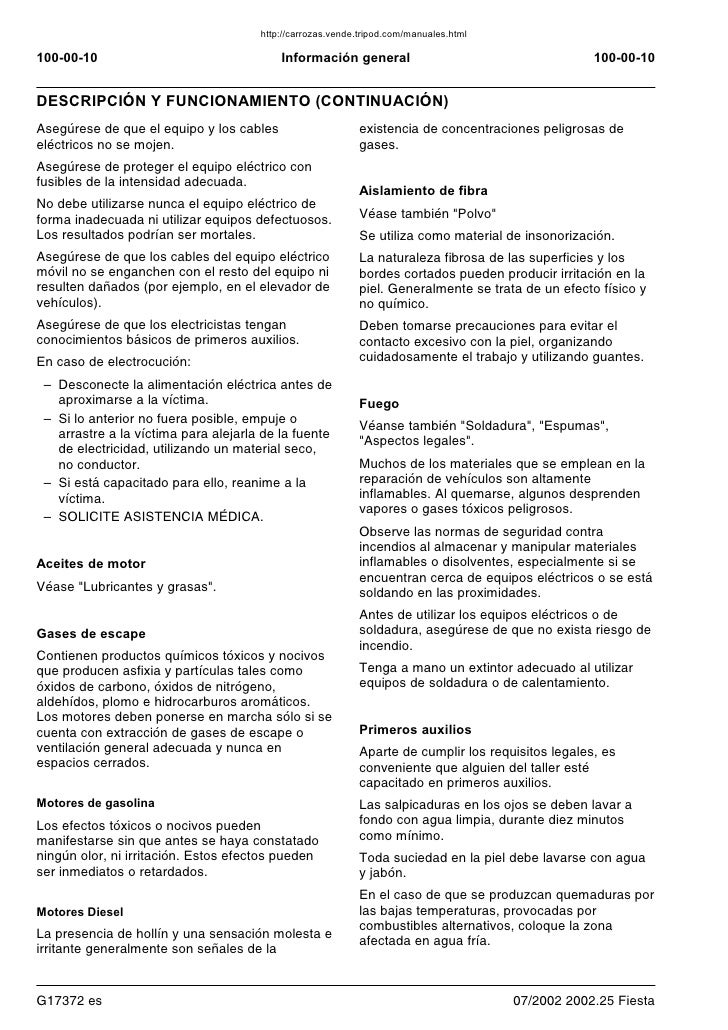 manual ford fiesta 2006 rh es slideshare net ford fiesta 2006 manuale pdf ford fiesta 2007 manual
