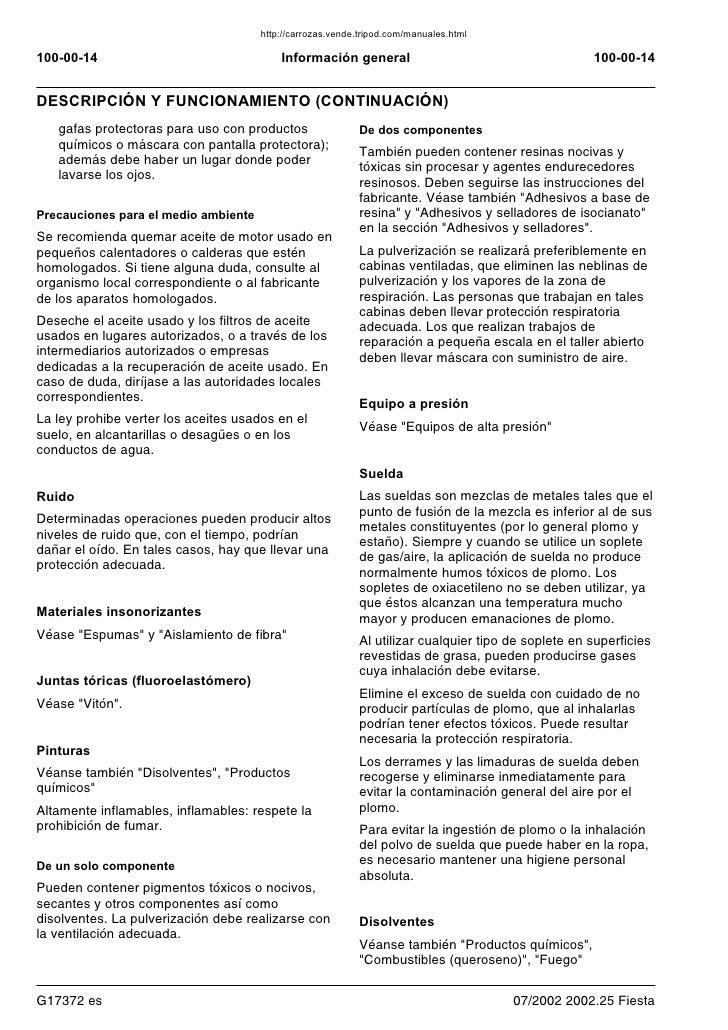 manual ford fiesta 2006 rh es slideshare net manual de ford fiesta 2006 manual do ford fiesta 2006