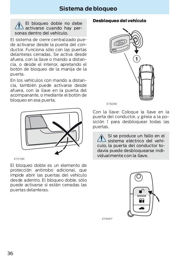 Genuine Ford Mondeo Mk1 Mk2 Interruptor De Alarma Antirrobo derecho