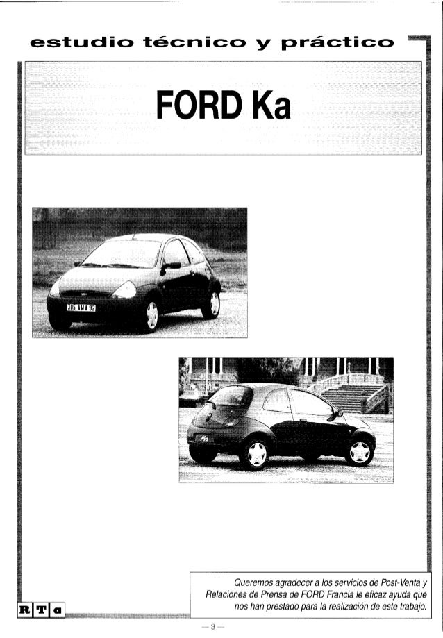 manual ford ka 98 rh slideshare net manual del ford ka manual del ford ka 2001