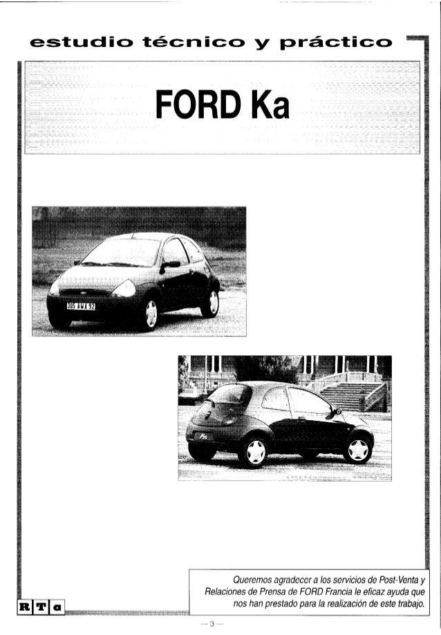 manual ford ka 98 rh slideshare net manual del ford ka 2017 manual del ford ka 2001