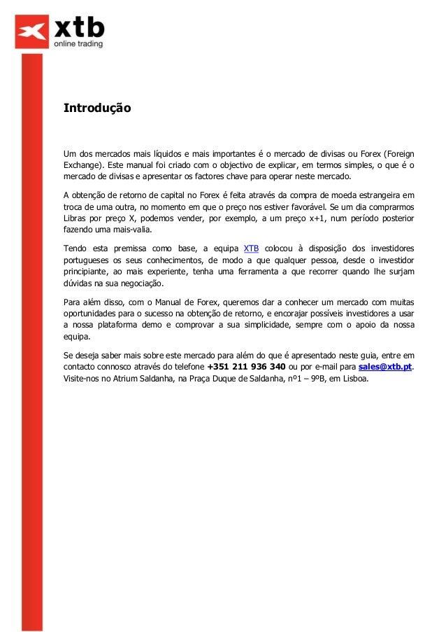 Investir forex portugal