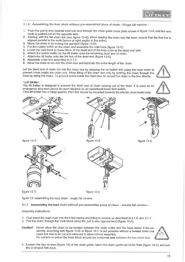 manual for liftket electrical chain hoist Liftket Chain Hoist Wiring Diagram Liftket Chain Hoist Wiring Diagram #8 liftket chain hoist wiring diagram