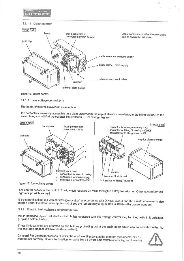 Hoist Wiring Diagram : Coffing jlc hoist manual wiring diagrams diagram